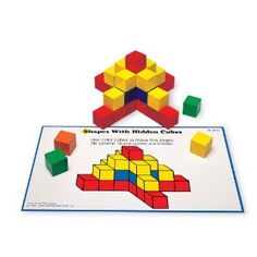 Amazon.com: Learning Resources Creative Color Cubes, 100 Pieces (LER0273): Office Products