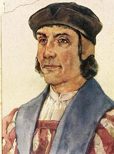 """Bartolomeu Dias (1450-1500)  foi um navegador português que ficou célebre por ter sido o primeiro europeu a navegar para além do extremo sul da África, """"dobrando"""" o Cabo da Boa Esperança e chegando ao oceano Índico a partir do Atlântico no ano 1488."""
