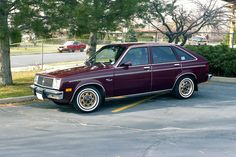 1981 Chevrolet Chevette. Metallic brown covered the body of mine.