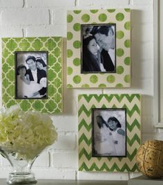 Easy #DIY Photo Frames --- Directions available on Joann.com