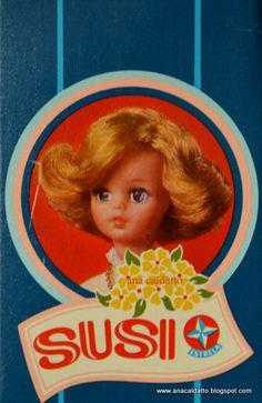 Ana Caldatto : Vintage Doll Susi 1983 com corpo articulável
