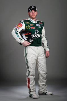 Dale Earnhardt Jr, suited up!!