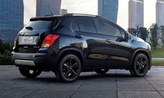 2016 Chevy Trax Gets Blacked-Out Midnight Edition http://www.autotribute.com/42681/2016-chevy-trax-gets-blacked-out-midnight-edition/ #ChevroletTrax #ChevroletSUV #SmallSUV