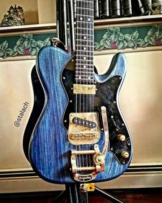 Follow @kw3hmd on Instagram: From: @stalach -  My Santo signature guitar! #guitar #guitarist #musician #music #tele #telecaster #teletuesday #santoguitarusa #guitarsdaily #studio33guitar #bigsby #Regrann