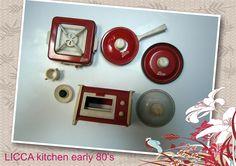 accesorios cocina LICCA DOLL