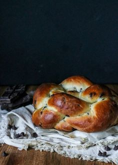 This Chocolate Chip Challah is delicious, impressive, and perfect to serve with your Hannukah dinner or on Shabbat!
