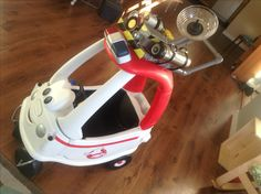 Ecto 1 Cozy Coupe - Ghostbusters #ecto1 #ghostbusters #cosplay #cozycoupe
