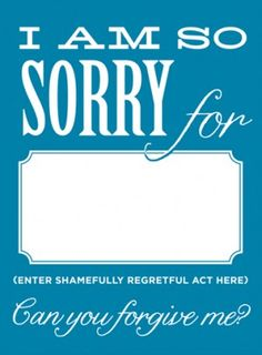 graphic regarding Printable Sorry Card identified as apology playing cards -