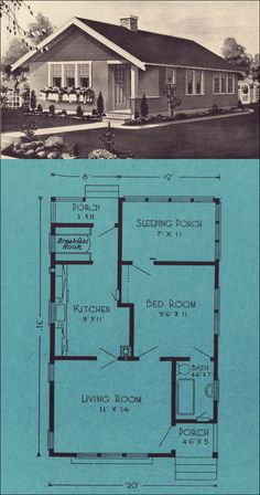 The Vashon  Homes from Forest to You, 1924 by Stetson & Post Lumber, Seattle
