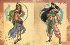 Arabian nights concepts by ArTGutierrez