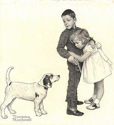 "Juvenile-Cowboy   ""Juvenile Cowboy"", Norman Rockwell, 1960 A…   Flickr"