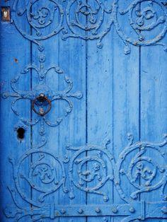 Door Details ~ Bright Blue