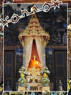 Buddhist Shrine - Bangkok, Thailand  Photography by James Watson