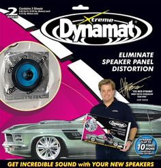 Dynamat 10415 Extreme Speaker Kit at World Wide Stereo