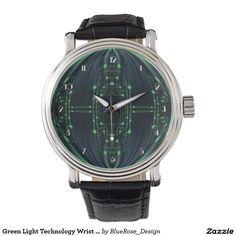 Green Light Technology Wrist Watch
