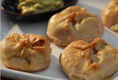 Mini Sweet Potato Knishes.