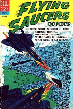 Flying Saucer Comics, Lockheed F-12B Interceptor, 1968