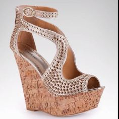 Bebe wedge for spring!