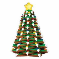 Cacas - Utstikkersett Juletre (10 Stjerner)