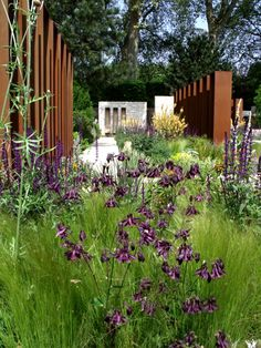 Daily Telegraph Garden Chelsea Flower Show 2010 corten