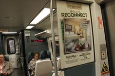 Get away to reconnect at the Golden Plough Inn at Peddler's Village. You may spot this ad on NJ Transit, rolling in to Penn Station in New York City.