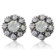 1960S Vintage Crystal Earrings