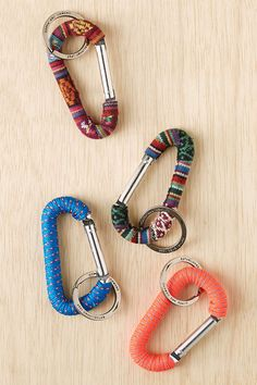 Woven Carabiner Keychain - Urban Outfitters