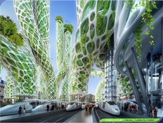 Vincent Callebaut's 2050 Vision of Paris