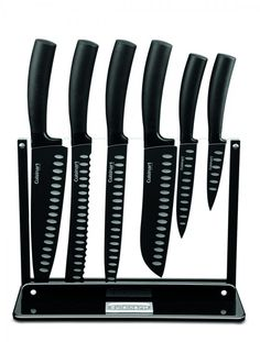 C77NS-7P - Cutlery Set with Acrylic Stand - Classic Nonstick Edge Collection - Cuisinart Classic® - Cutlery - Products - Cuisinart.com #LGLimitlessDesign #Contest