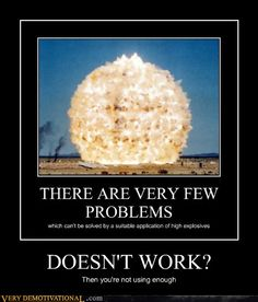 Especially on Mythbusters.that is one of the prettiest explosions I have ever seen. Most Hilarious Memes, Funny Memes, It's Funny, Funny Stuff, Very Demotivational, Hindi Comics, Science Jokes, Military Humor, Draw
