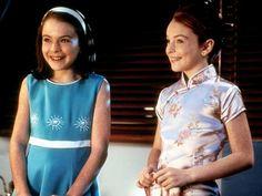 9 juni 2012: Onafscheidelijk. Foto: Lindsay Lohan in de dubbelrol van gescheiden tweelingzusjes      Hallie Parker/Annie James in Parent Trap