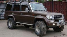 Toyota Land Cruiser Prado 70-series Шоколадная табуретка
