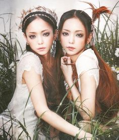 Amuro Namie on Zazhimi Japanese Beauty, Asian Beauty, Prity Girl, Hip Pop, Its A Mans World, Two Girls, You Look Like, Interesting Faces, Asian Fashion