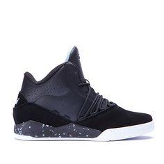 SUPRA ESTABAN | BLACK / BLUE - WHITE | Official SUPRA Footwear Site