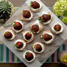 Summer entertaining made easy with this Chocolate Strawberry Pavlova, and a little help from Google Home Mini.