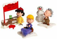 Amazon.com : Peanuts: A Charlie Brown Christmas Action Figure Box Set Assortment : Charlie Brown Christmas Figurines : Toys & Games