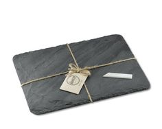 Brooklyn Slate Cheese Board, Grey #williamssonoma Perfect for the cheese & wine pairings.