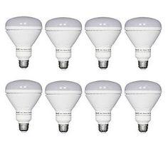 LED Light Bulbs Dimmable 100W A21 65W Equivalent BR30 Flood 8 Pk or 2 Pk