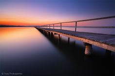 Sunset at Long Jetty.   Central Coast, NSW, Australia | Photographer Yury Prokopenko