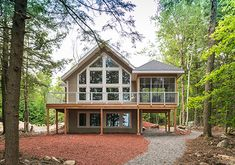 House Plans - Wood Lake - Linwood Custom Homes Small Lake Houses, Small Cottage House Plans, Small Cottage Homes, Cabin House Plans, Simple House Plans, Cottage Floor Plans, Basement House Plans, House Plans One Story, Country House Plans
