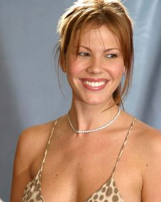 Nikki Cox Candid Big Smile Portrait Photo Or Poster