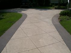 diamond cut concrete patio - Google Search