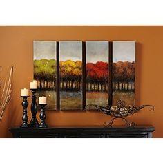 Four Seasons Canvas Print, Dinning room