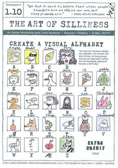 The Art of Silliness - Drawing exercise # ? | Create a visua… | Flickr