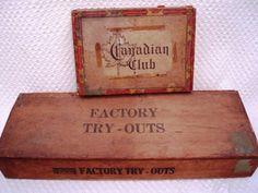 Cigar Boxes vintage