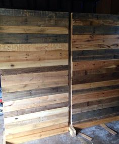 rustic room divider - Google Search