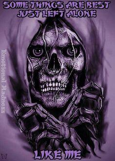 """""""Skull Breaking Out"""" by @ deviantart ☠️ Dark Fantasy Art, Dark Art, Grim Reaper Art, The Crow, Totenkopf Tattoos, Reaper Tattoo, Skull Artwork, Skull Drawings, Skeletons"""
