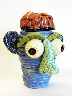 Coil Pot Face From RHS 2011-12 (Teacher: Hope Chella)