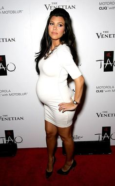 Kourtney (Pregnant & Heels) <3 & my favorite Kardashian.