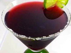 Fabulous Pomegranate Martini.  http://www.skinnykitchen.com/recipes/holiday-pomegranate-martini/